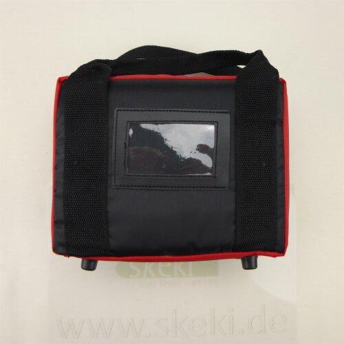 "Minigolfballtasche ""Pro-Bag"" rot-schwarz"