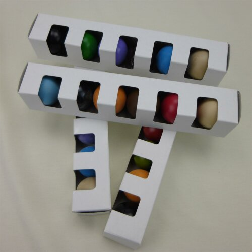 Minigolfbälle 6er Set Eternit