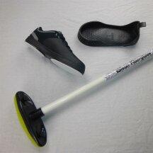 Olson Rookie Bundle: ReVive curlingshoe + anti slider + curling broom M 13