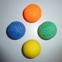 Minigolfball Leuchtball genoppt für Schwarzlicht