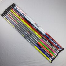 """BP LiteSpeed RS Curlingbrooms -recommended models- XL 22,9 cm (9"""") gray/yellow"""