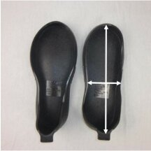 Anti-Sliding Sole - Set of 2 for left and right shoes L