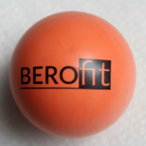 Minigolfball Berofit Turnierqualität Orange - app. 23cm, medium hard, app. 40g