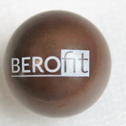 Minigolfballserie Berofit Turnierqualität Braun - ca. 30cm, sehr hart, ca. 36g