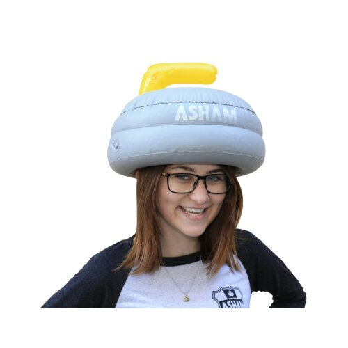 Curling Stone as hat(inflatable)
