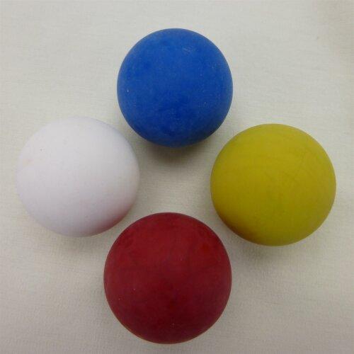 Minigolfball Stopper glatt gelb
