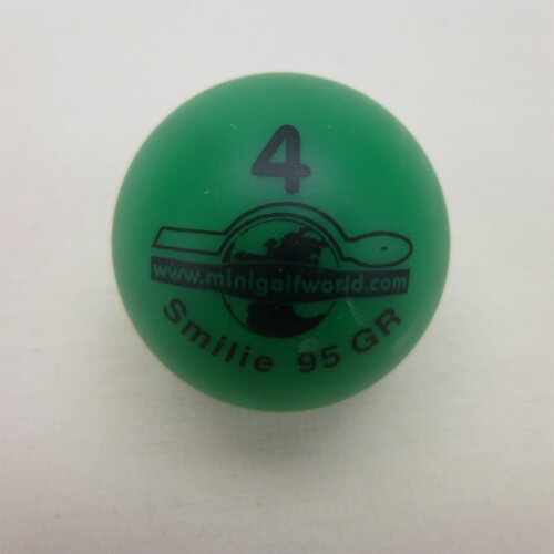 Minigolfball Smilie Tournament quality