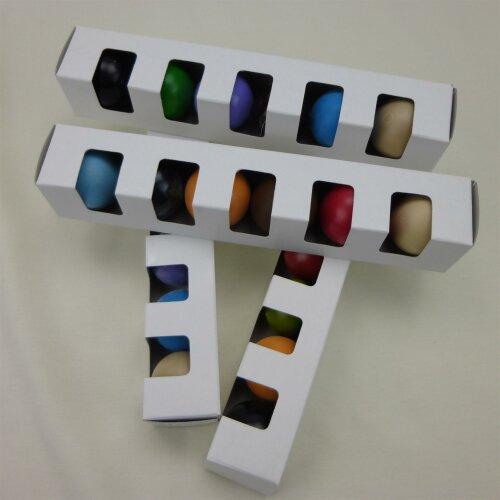 Minigolfbälle Starterset (Turnierqualität B)  6er Set