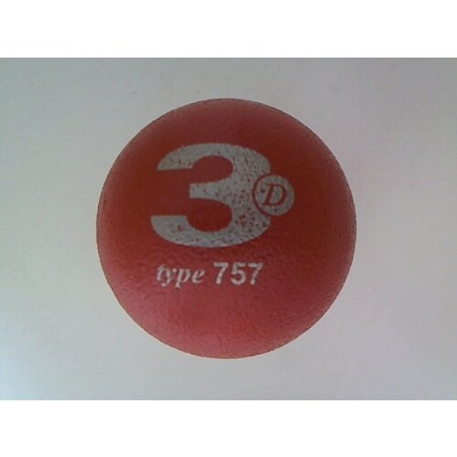 Minigolfball 3D 757KX small rough-lacquer