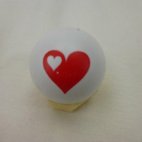Minigolfball Motif Heart