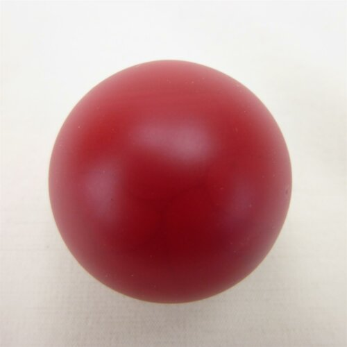 Minigolfball Stopper lackiert