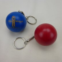 Minigolfball Schlüsselanhänger