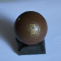 Minigolfball System-Golf B 52 klein lackiert