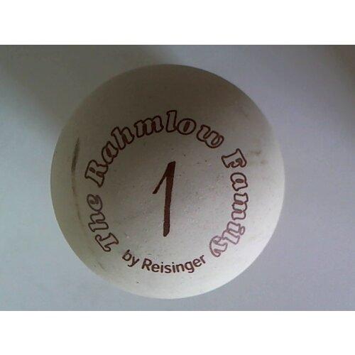 Minigolfball Reisinger R Rahmlow Family 1 klein roh