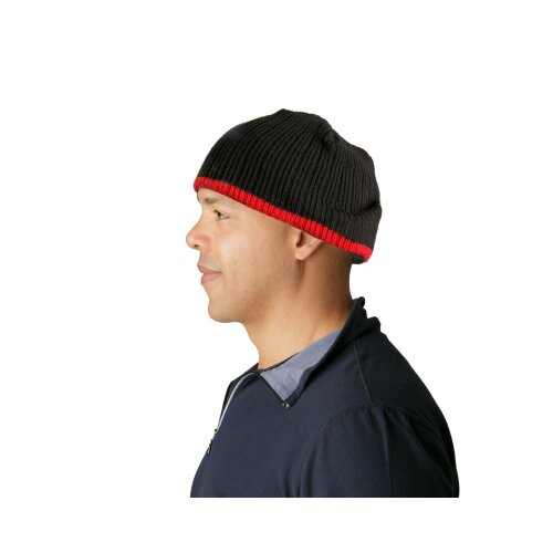 Goldline Head First Protective Hats black-red