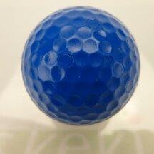 Adventure Golfball in vier Farben blau
