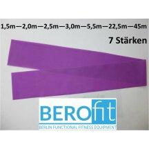 Berofit Fitnessband in 7 Stärken und vielen Längen (Breite 15 cm)
