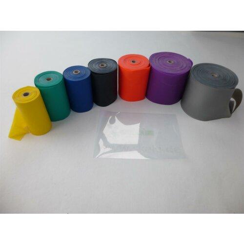 Berofit Fitnessbänder 0,75 mm superschwer silber