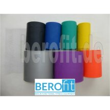 Berofit Fitnessband in 7 resistance levels and many lenghts extra light 0,15 mm - yellow 0,1 m