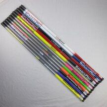 BalancePlus carbon fibre handle Litespeed gray/neon pink