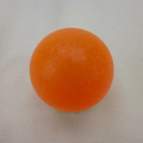 Minigolfball Standard glatt in Leuchtorange